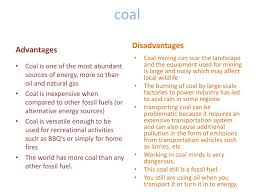 Advantages And Disadvantages Of Natural Gas Ppt Coal Powerpoint Presentation Id 2909805