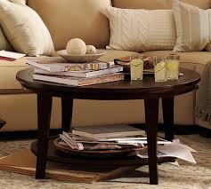 ... Creative Coffee Table Decorating Ideas Pictures For Your Living Room :  Fancy Cream Fabric Sectional Sofa ...