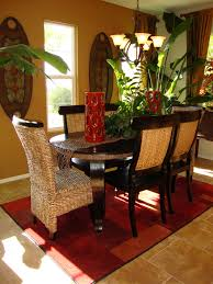 If You Are One Who Likes A Room To Be Warm With Color And Have Tropical Dining Room Decor