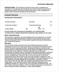 warranty template word warranty form template warranty certificate template 9 free word pdf