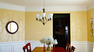 the dining room is done