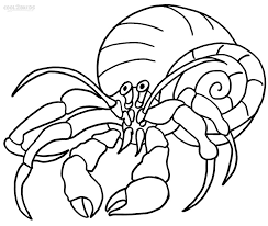 Small Picture Hermit Crab Coloring Page AZ Coloring Pages House For Hermit