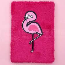 <b>Блокнот плюшевый</b> Розовый фламинго Ping flamingo купить по ...
