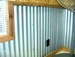 garage wall covering outside ideas options