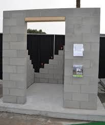 masonry concrete block tornado safe room