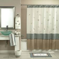 appealing designer shower curtains extra wide curtain ideas for bath accessories inch long fabric large oval
