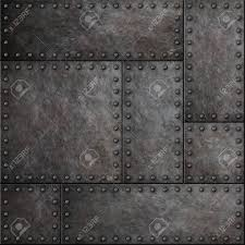 rivets in metal texture. dark metal plates with rivets seamless background or texture stock photo - 71091116 in