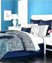 secret comforter set navy fl queen cloister dark blue black and white bedding pink navy blue