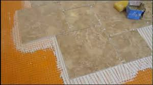 Tile Patterns For Kitchen Floors How To Install Pinwheel Pattern Kitchen Ceramic Tile Floor Youtube