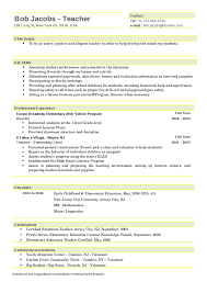teaching resume tips new teacher resume template