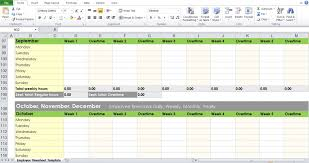 025 Monthly Timesheet Template Excel Timesheets Unique
