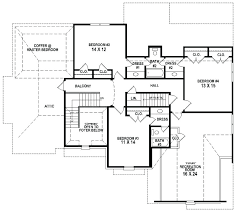 House Plans With Jack And Jill Bathrooms 3 Bedroom House Plans With Jack  And Bathroom Arts House Plan Jack Jill Bathroom