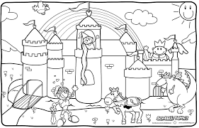 Small Picture Emejing Castle Knights Coloring Pages Ideas New Printable