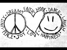 Love Peace Sign 27 Wide Wallpaper Xdwallpapercom