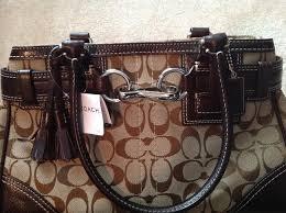 Coach Shoulder Bag. 12345678