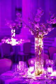 vase lighting. fairy light filled bell jars as wedding decor vase lighting