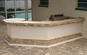 outdoor kitchen tile countertop match your tile with the footrest tile outdoor kitchen tile countertop ideas best tile for outdoor kitchen countertops