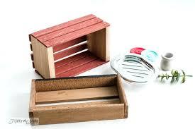 how to make miniature furniture. Dollhouse Miniature Furniture Crate And Soap Dish Sink How To Make . T