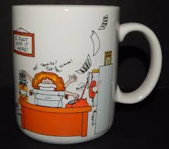 office coffee cups. Wonderful Office Hallmark How To Get Along At The Office COFFEE Tea Cup MUG 1984 I Just Love And Coffee Cups Y