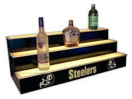 liquor bottle shelf lighted bar shelves 3 tiers custom options free liquor home bottle shelf liquor bottle shelf