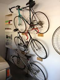 Stacking leaning garage bike rack ...