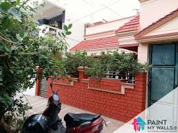 Home Painting Design Outside Home Outside Paint Design In Hyderabad Quality House