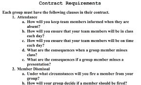 Project Management Contract Template