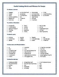 ideas about cause and effect essay on pinterest  custom  this useful handout contains lists of linking terms useful for students when writing essays linking