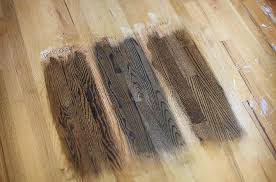 a few posts ago we talked about hardwood floor stain colors as we mentioned we narrowed down our options to three dark walnut ebony and jacobean
