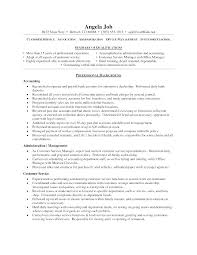 Examples Of A Summary For A Resume Awesome Free Sample Customer Service Resume Templates Example For