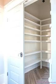 wood pantry shelving pantry shelving built in organization ideas shelf distance layout herringbone wood tile flooring