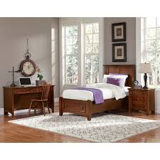 Bassett King Bedroom Sets Vaughan Bassett Bonanza Twin Bedroom Group ...