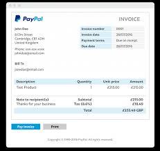 Uk Letsgonepal Invoice Generator Work Sample Flow Steps Paypal Templates com