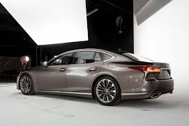2018 lexus model release. contemporary lexus 2018 lexus ls 500 rear three quarter 03 on lexus model release