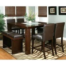 counter high dining table set counter height dining room set with 2 chair options counter height counter high dining table