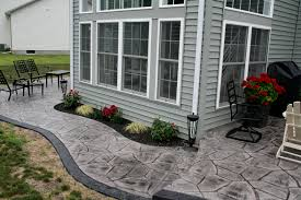 stamped concrete overlay. Overlay Stamped Concrete