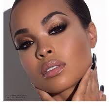 make up pretty brown eyes bronzer copper bronze cute heather sanders sorella boutique sorella neutrals neutral colors glossy photoshoot