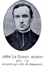 Albert <b>Le Cuziat</b>. Ce prêtre a servi glorieusement lors des deux guerres <b>...</b> - lecuzi9