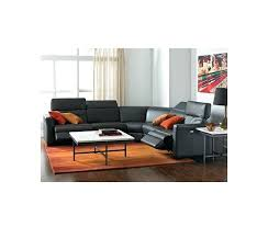 Outlet Leather Power Reclining Sectional Sofa Collection With  Articulating Headrests Created For Furniture Macys Locations New York New York Furniture Outlet I93