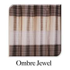 brown fabric shower curtains. Ombre Jewel Brown Fabric Shower Curtain. \u201c Curtains B
