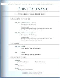 Ms Word Resume Templates Digiart