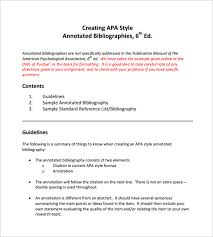 Apa Annotated Bibliography Example Annotated Bibliography Pdf What Is An Annotated Bibliography