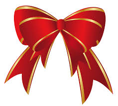 Red Christmas Bows – Happy Holidays!
