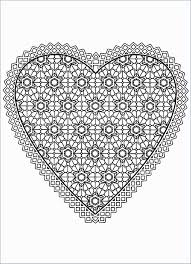 Free Printable Heart Coloring Pages Unlimited For Kids Intellectual