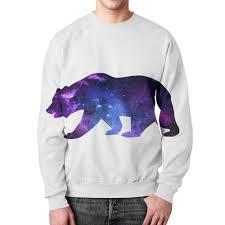 Свитшот мужской с полной запечаткой Space <b>animals</b> #2390765 ...