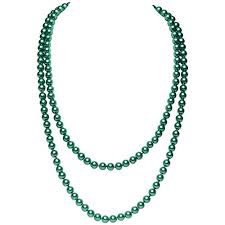 <b>Green Bead</b> Necklace: Amazon.co.uk