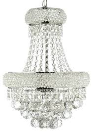 french empire chandelier crystal assembly