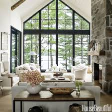 modern rustic home decor ideas awesome anne hepfer decorating lake house living room contemporary diy log