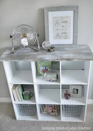 ikea storage cubes furniture. Cube Storage Makeover With Wood On Top Ikea Cubes Furniture S