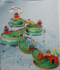 Bake A Story Gabriels Mini Golf Cake